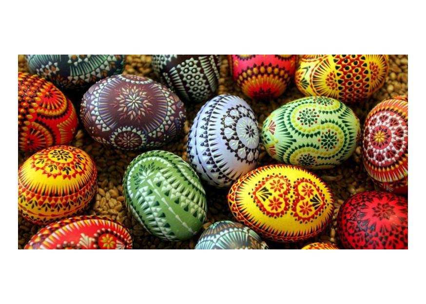 Des œufs de Pâques dans votre ordinateur
