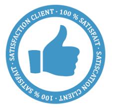 100% satisfaction client