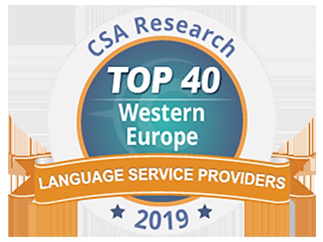 TradOnline et le groupe Tradutec à la 14ème place du TOP 40 européen des agences de traduction